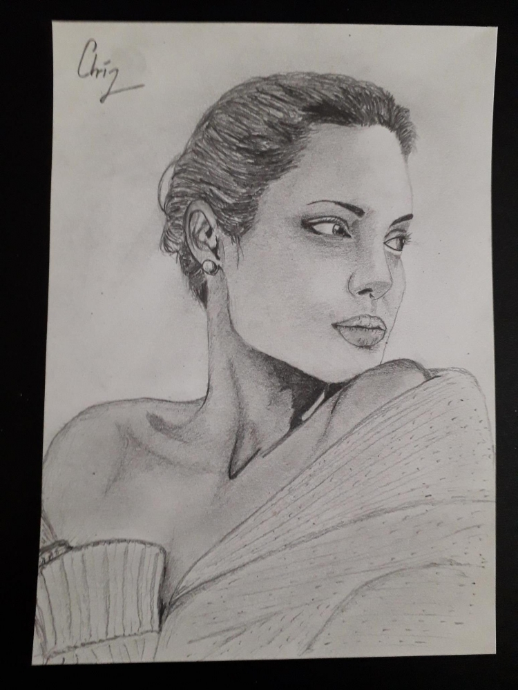 Angelina Jolie by chrispicture